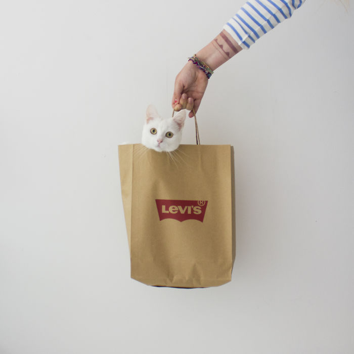 When Human Buys New Clothes. #levis