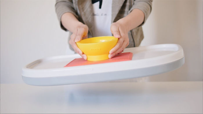 Futuristic Suction Bowl Every Mom Loves