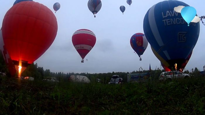 Epic Start Of Hot Air Balloons