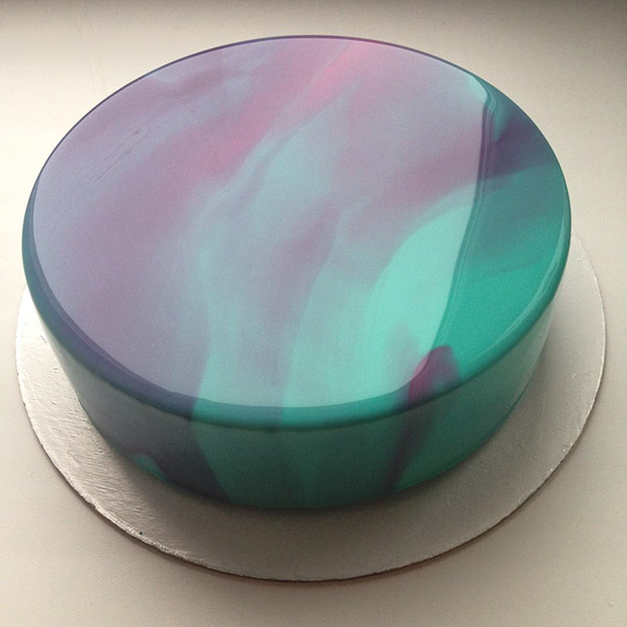 mirror marble cakes by russian confectioner are just too