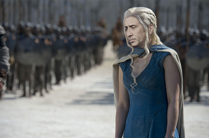If Nicolas Cage Played Every Character In Game Of Thrones (12+ Pics)