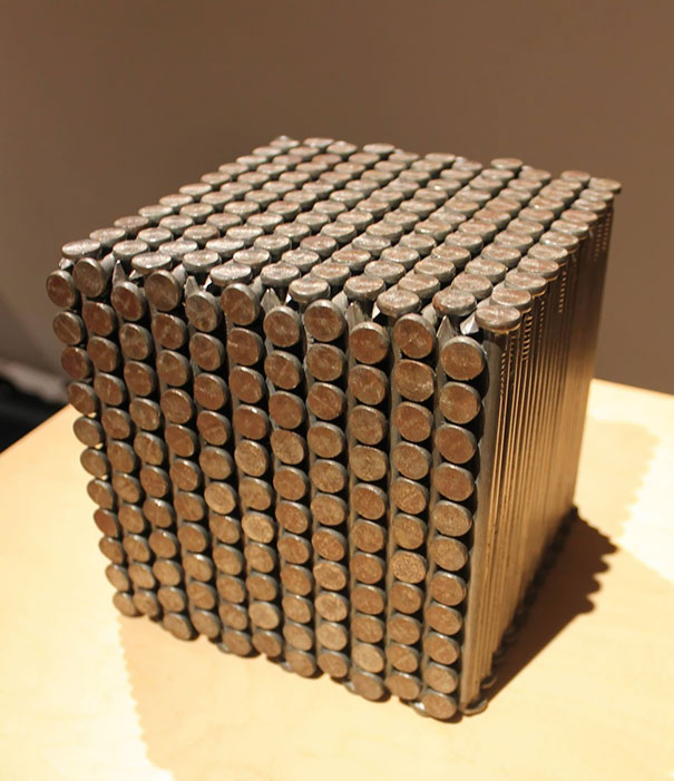 A Cube Of Nails