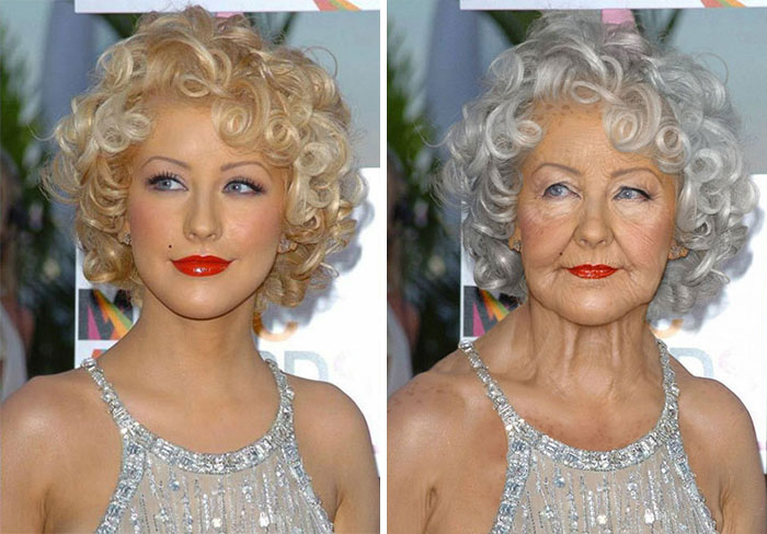 Photoshop Artists Show How Celebrities Might Look When They Get Old