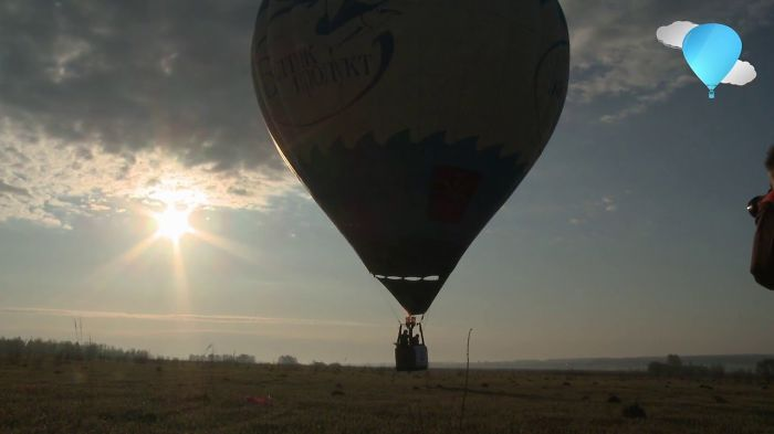 "Russia – Sunset On The Purpose Of The Balloon ""baltic Product"""