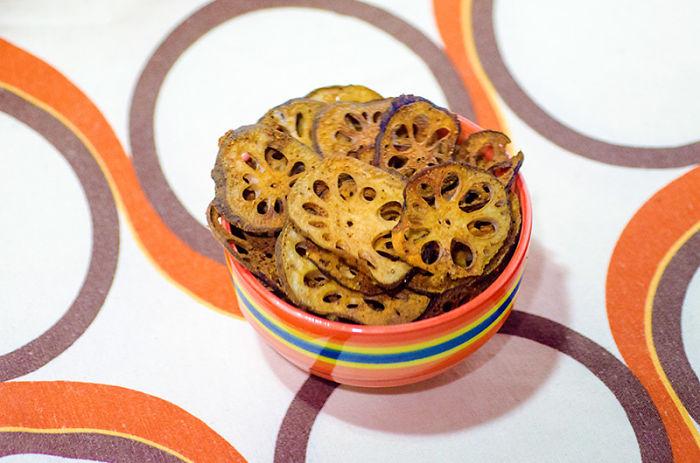 Paprika Lotus Root Chips Recipe