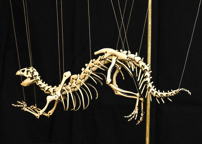 I Love To Design Dinosaur Skeletons Using Leather