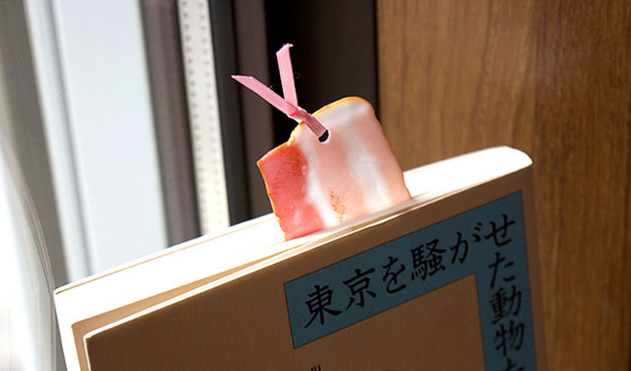 Realistic Food Bookmarks From Japan