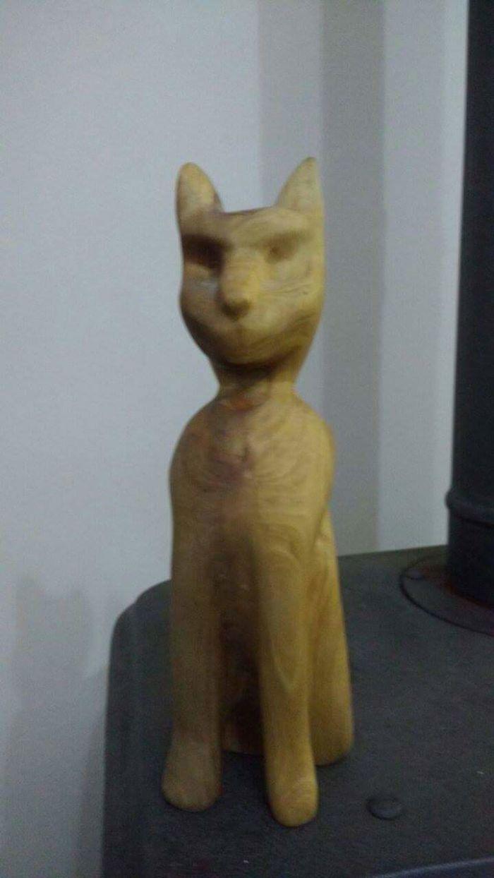 Cat (olive Wood)