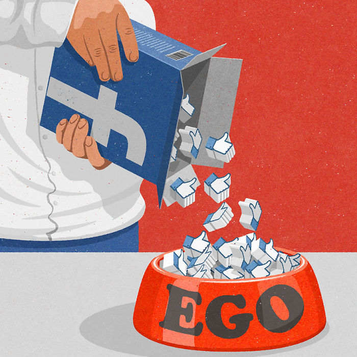 16 Satirical Illustrations Of Today's Problems Drawn In A Retro Style