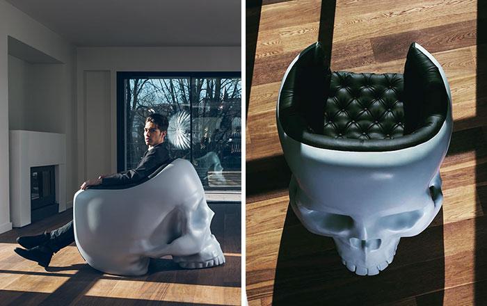 Skull Armchair To Satisfy Your Inner Villain