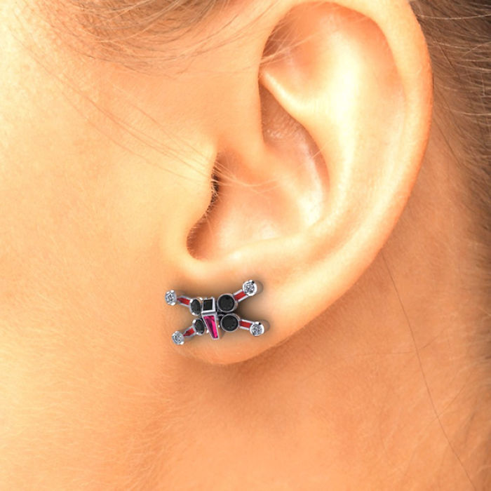 X -Wing Earrings