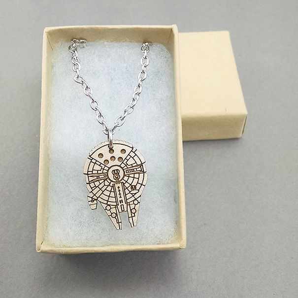 Millennium Falcon Necklace