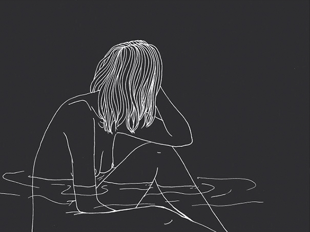 Line Art Aesthetic : Young artist creates insightful illustrations based on her