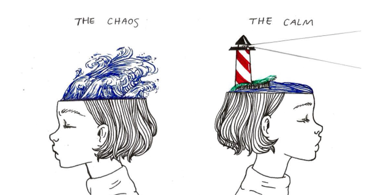 Young Artist Creates Insightful Illustrations Based On Her Life