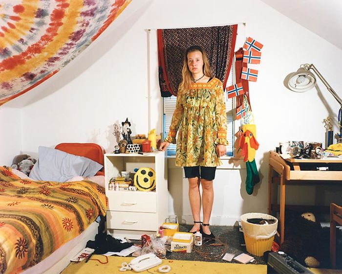 The Bedrooms Of Teenagers In The 90s