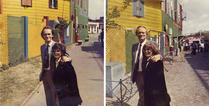 My Parents 1970 & 2010, Buenos Aires
