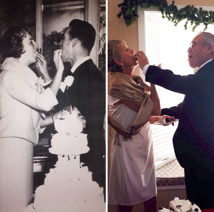 My Friends Grandparents 50 Years Apart