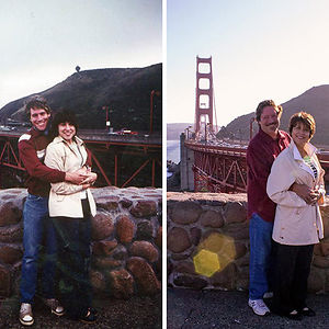 My Parents Passed Through San Francisco On Their Honeymoon In 1982, And 32 Years Later