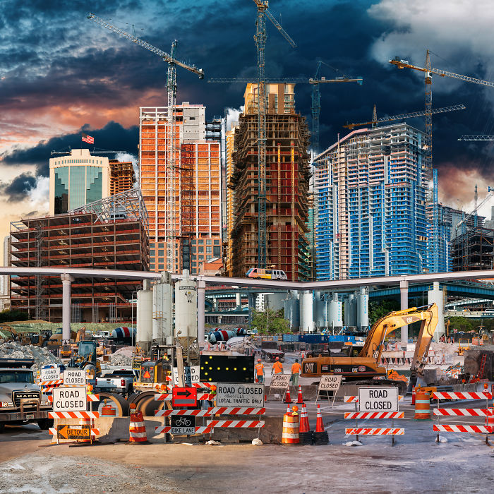 I've Spent Over A Year Of My Life Photographing The Construction In Miami