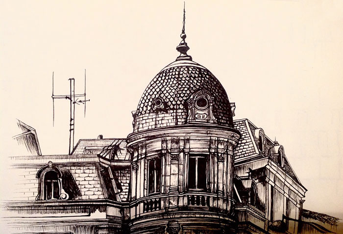 I Create Detailed Drawings Of Architecture