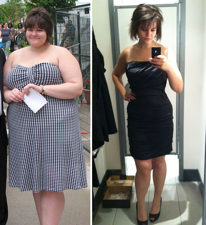 July 2010 - December 2011, 133 Lbs Down, Christmas Dress Acquired