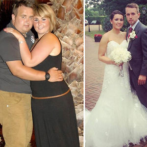 This Couple Loses A Combined 133 Pounds To Look Super Hot On Wedding Day