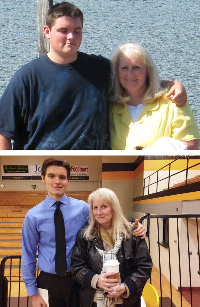 My Mother And Myself! 4 Years Of Hard Work For Both Us