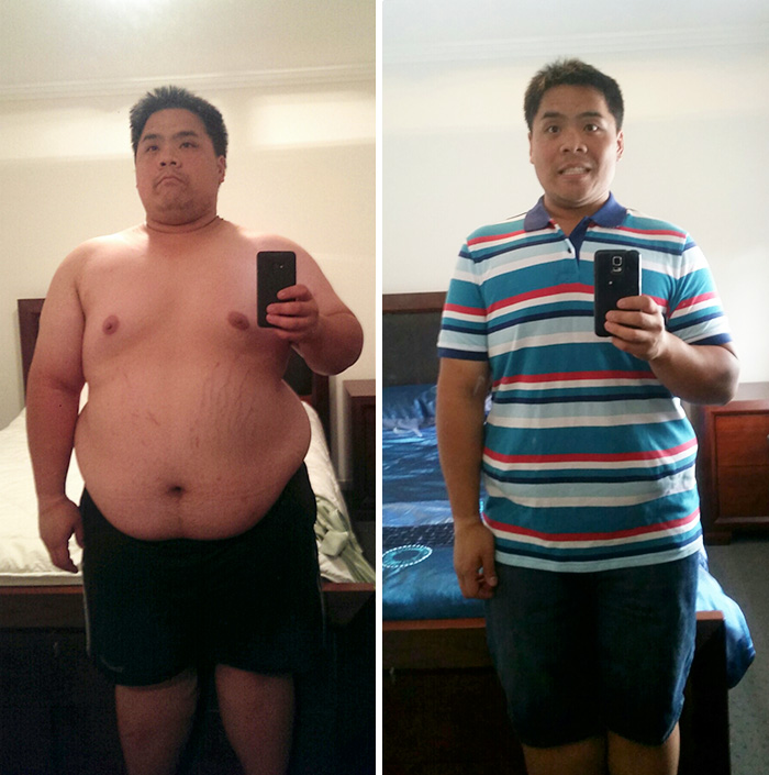 About 13 Months Between The Photos, 53kg (116 Lbs) Lost