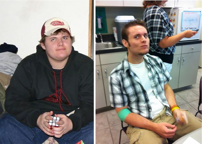 My Weight Loss From 2008 To 2012, I Went From 287 Lbs To 190 Lbs