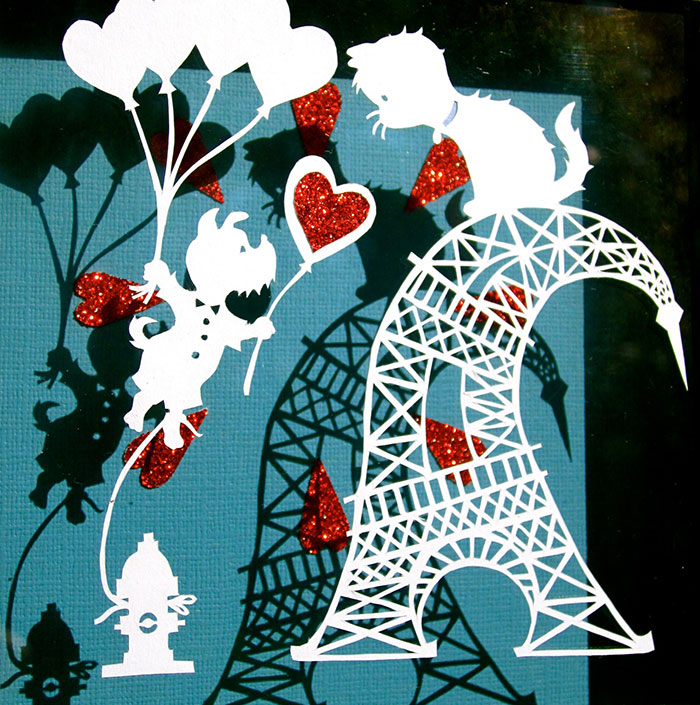 I Make Whimsical Papercuts With Characters That Will Make You Smile