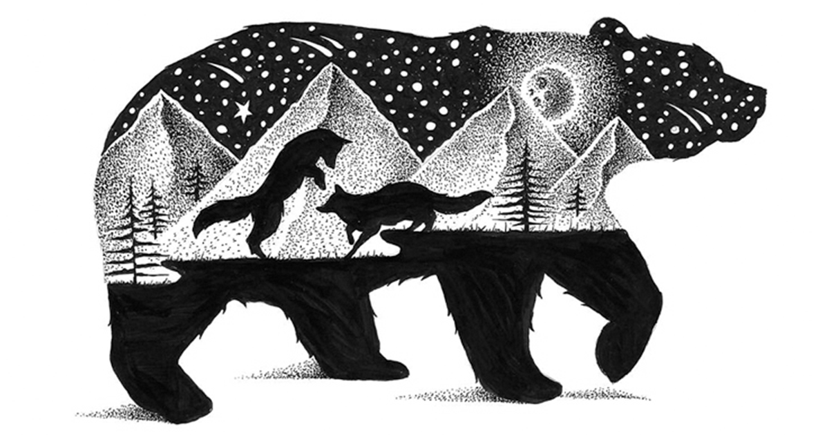 I Draw Thousands Of Tiny Dots To Create These Wild Illustrations