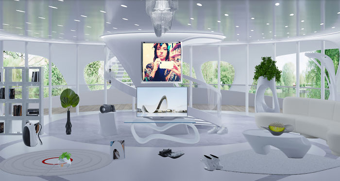 I Design Virtual Rooms That Pay Tribute To My Favorite Artists And Architects