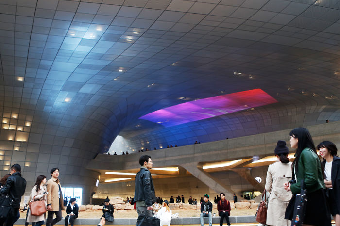 How We See Dongdaemun Design Plaza(ddp) By Zaha Hadid