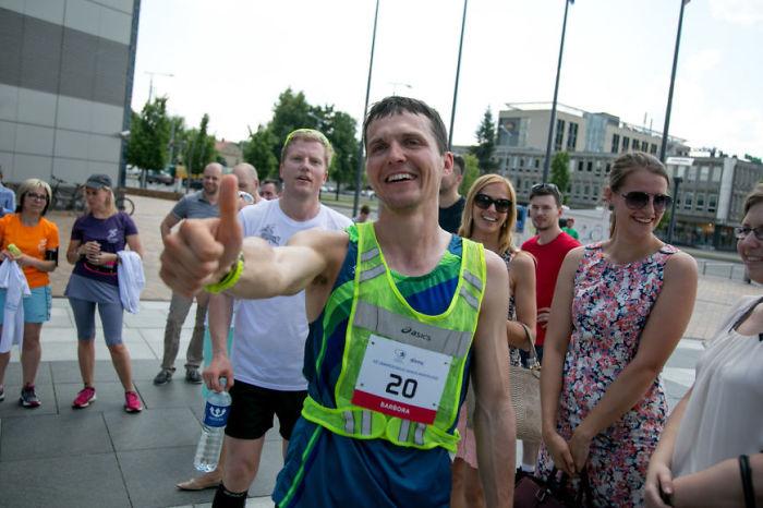 Impressive Challenge: 20 Marathons In 20 Days For Happier Children At Schools