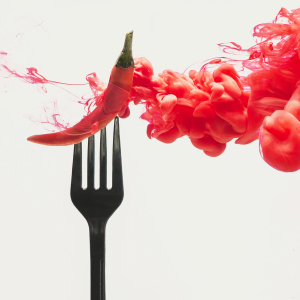 I Photograph Foods Dissolving Into Clouds Of Colours