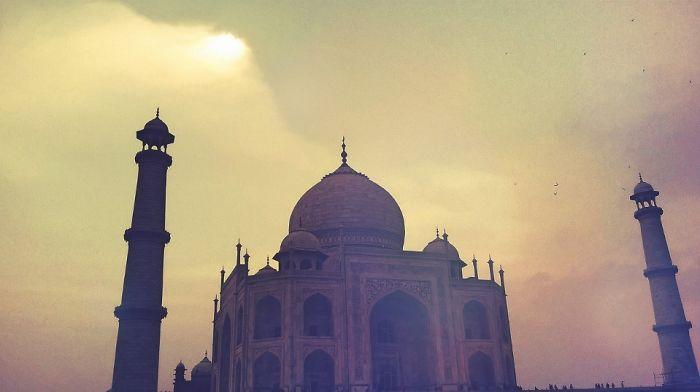 The Indian Beauty, Taj Mahal, Agra, India