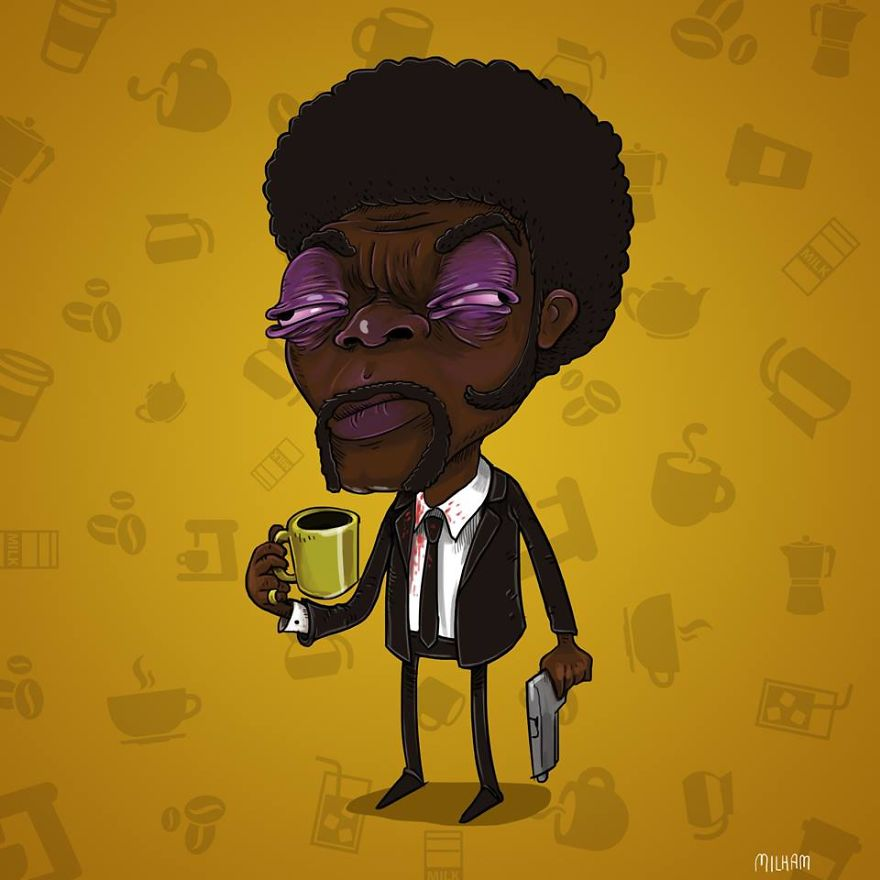 Samuel L. Jackson Before Coffee