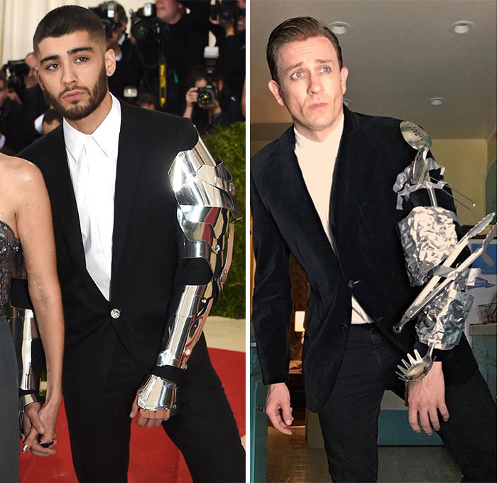 Tom Lenk As Zayn Malik At Met Gala