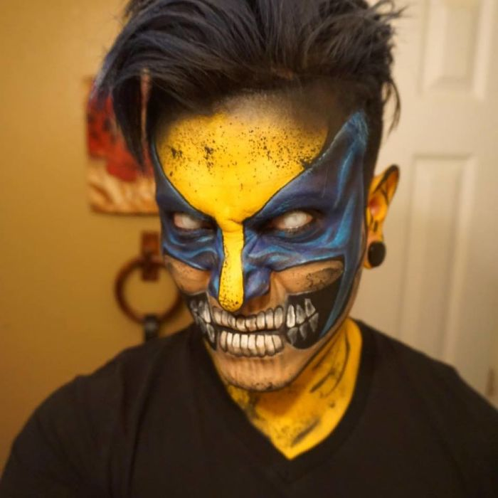 Makeup Artist Turns Himself Into Superheroes