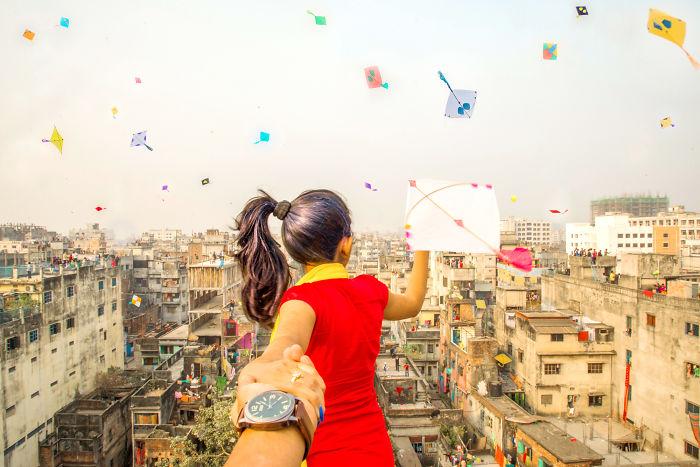 I Photograph Follow Me Series In Dhaka, Bangladesh