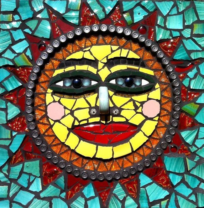 Nature Inspires My Fine Mosaic Art