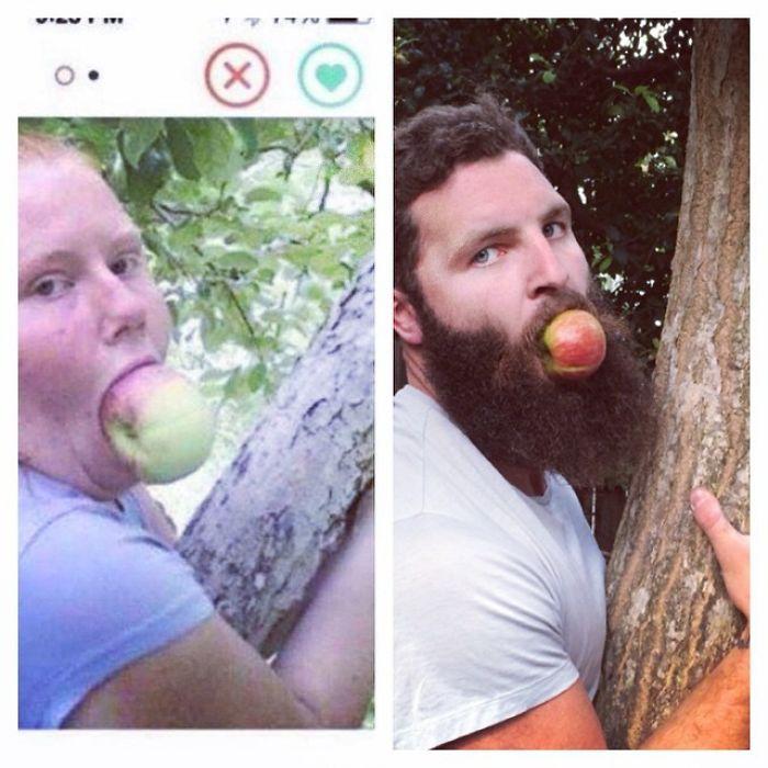 This Aussie Gent Recreates Peoples Tinder Profile Pics