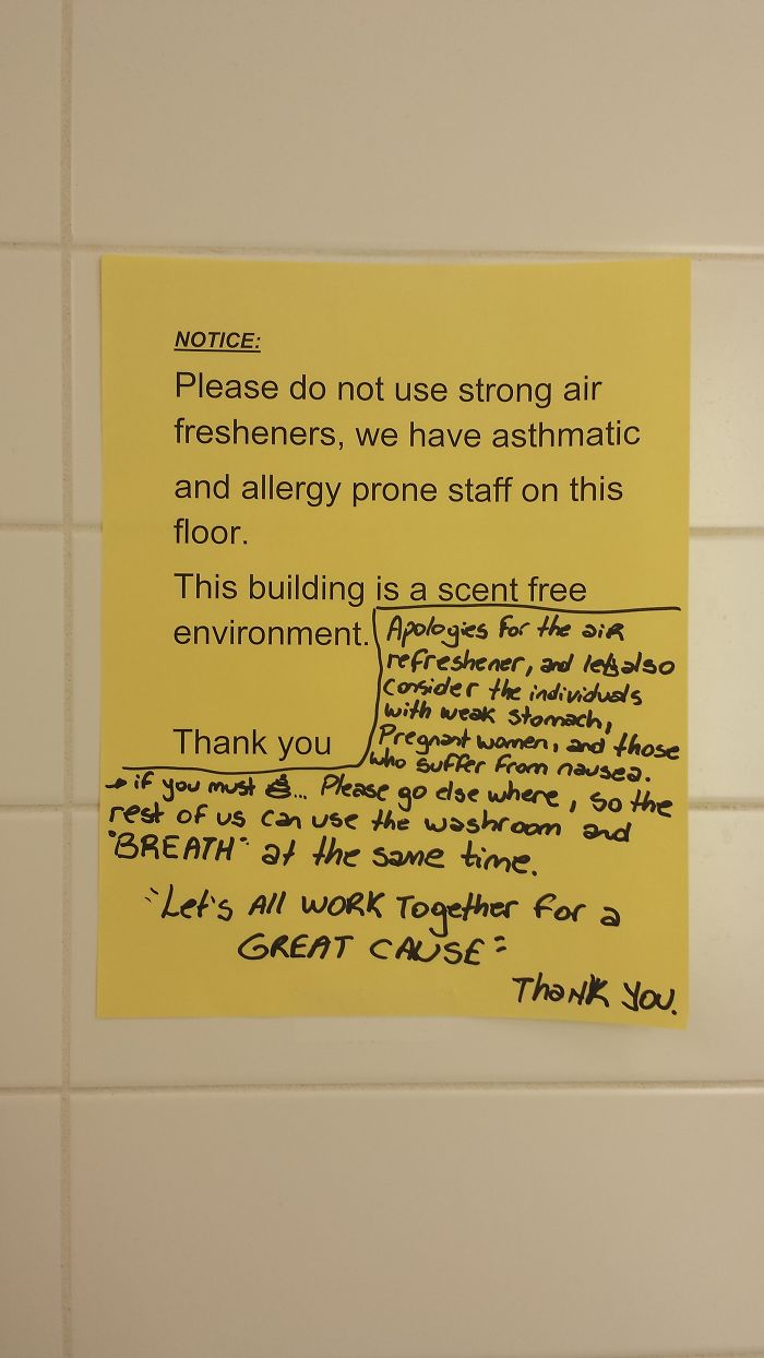 Found In The Ladies' Room. (not So Lady-like.)