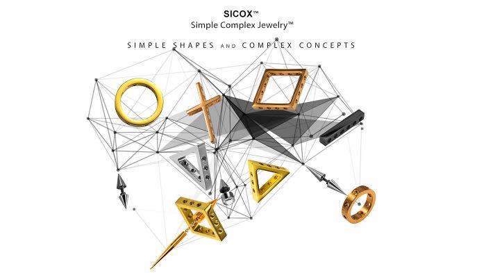Sicox™ – The World's First Simple Complex Jewelry™. One Set Of Jewelry, Million Ways To Wear.