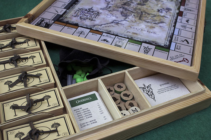 A New Version Of My Previous Lotr Boardgame Project