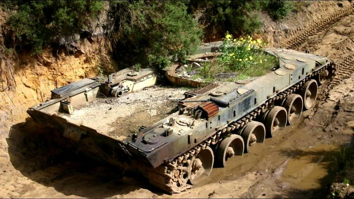 Abandoned Legendary Tanks. Graveyard Of Tanks