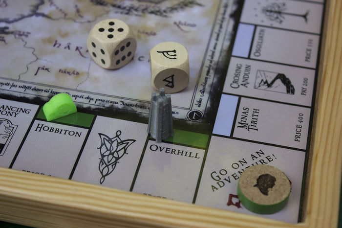 I Made A New LOTR Boardgame