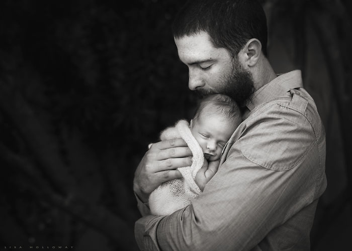 Dustin Ackley Of The Yankees & His Son, Parson