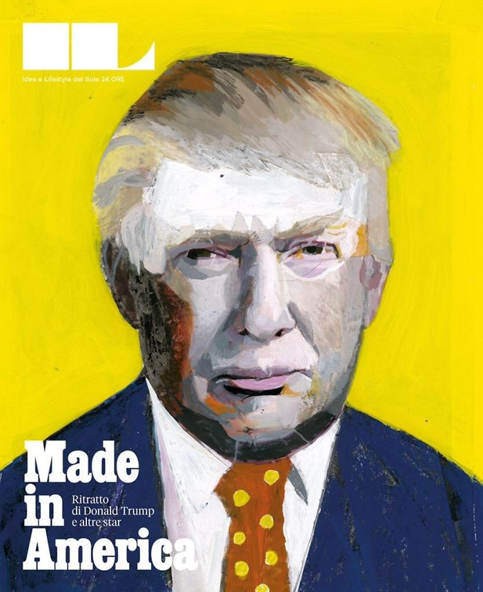 From Hillary Clinton To Donald Trump, The Amazing Portraits By Andrea Ventura