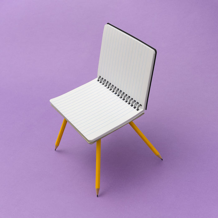 Notepad Chair